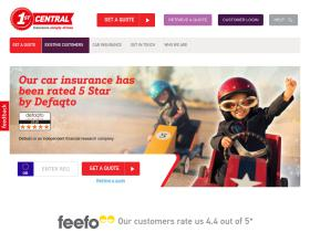 1St Central Insurance Coupons