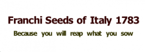 Franchi Seeds Of Italy Coupons