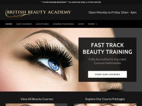 British Beauty Academy Coupons