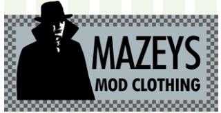 Mazeys Mod Clothing Coupons