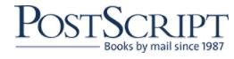 Postscript Books Coupons