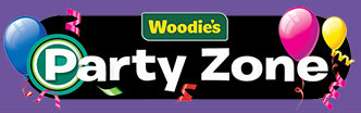 Woodies Party Zone Coupons